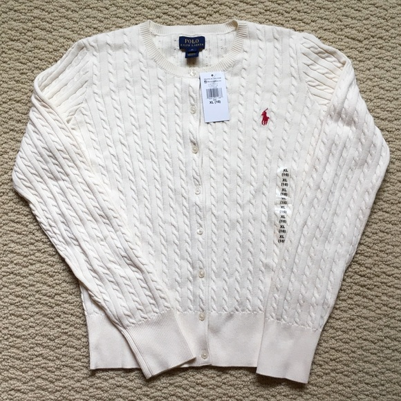 Polo by Ralph Lauren Other - Polo Ralph Lauren Cable Knit Cardigan